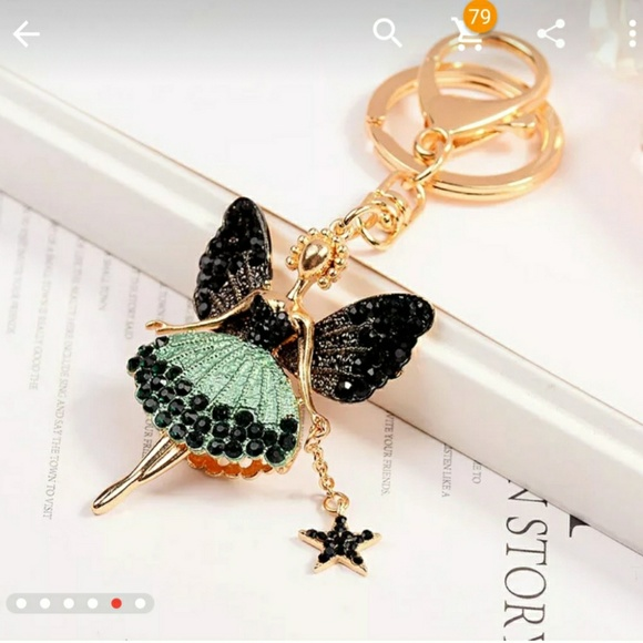 . Other - Beautiful sparkling bag charm